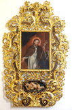Saint Lawrence painting Stock Images