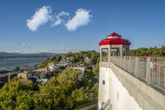 Free Saint Lawrence Seaway Terrace Of Lévis Royalty Free Stock Photos - 130659758