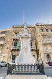 Saint Lawrence at Vittoriosa Square in Birgu, Malta Stock Photography
