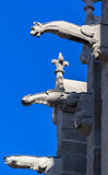 Saint Lazare Basilica Carcassonne France Stock Photography