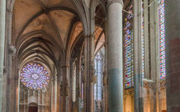 Saint Lazare Basilica Carcassonne France Royalty Free Stock Images