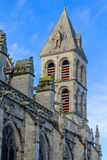 Saint Lazare Cathedral, in Autun. The Saint-Lazare Cathedral, in Autun, Burgundy, France Stock Photos