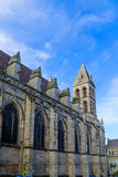 Saint Lazare Cathedral, in Autun. The Saint-Lazare Cathedral, in Autun, Burgundy, France Stock Photo