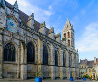 Saint Lazare Cathedral, in Autun Stock Image