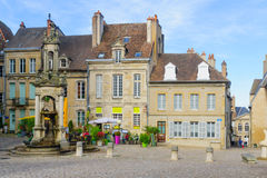 Saint-Lazare Fountain, in Autun Royalty Free Stock Images
