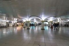 Saint Lazare Metro Station in Paris Royalty Free Stock Photo