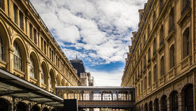 Saint Lazare train station Royalty Free Stock Images
