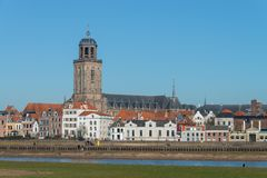 Saint Lebuinus Church in Deventer royalty free stock photo
