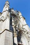 Saint-Leonard church, Fougeres, France. Stock Photo