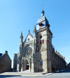 Saint-Leonard church, Fougeres, France. Royalty Free Stock Photo