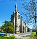 Saint-Leonard church, Fougeres, France. Royalty Free Stock Photography