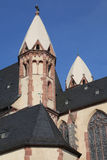 Saint Leonard church in Frankfurt Royalty Free Stock Images