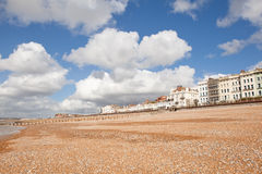 Saint Leonards beach near Hastings, East Sussex, England Royalty Free Stock Image