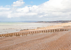 Saint Leonards beach near Hastings, East Sussex, England Royalty Free Stock Photo