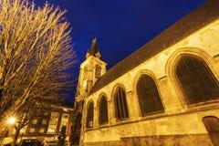 Saint-Leu Church in Amiens. Amiens, Nord-Pas-de-Calais-Picardy, France Royalty Free Stock Image