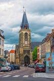 Saint Leu Church dans des Frances d'Amiens Picardie Images libres de droits