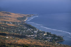 Saint Leu town,  Reunion Island Royalty Free Stock Photography