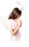 Saint little girl Royalty Free Stock Image
