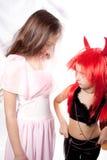 Saint little girl Stock Photography