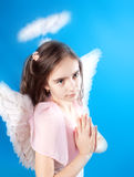 Saint little girl Royalty Free Stock Photo
