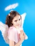 Saint little girl Royalty Free Stock Photo