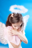 Saint little girl Royalty Free Stock Photography
