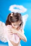 Saint little girl Royalty Free Stock Photography