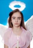 Saint little girl Stock Images