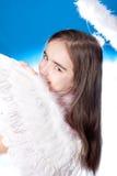 Saint little girl Stock Image