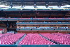 Saint Louis, états unis 16 décembre 2017 : Rangées des sièges vides dedans Photos libres de droits