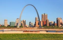 Saint Louis arch Royalty Free Stock Photo