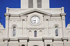 The Saint Louis Cathedral Royalty Free Stock Photo