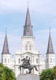 Saint Louis Cathedral Stock Photo