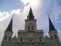 Saint Louis Cathedral. The Saint Louis Cathedral in Historic New Orleans Stock Photography