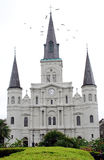 Saint Louis Cathedral. The St Louis Cathedral in New Orleans, Louisiana Royalty Free Stock Image