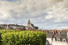 Saint-Louis Cathedral in Blois Royalty Free Stock Image