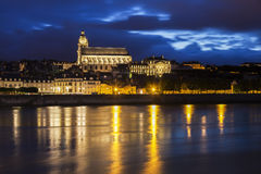 Saint-Louis Cathedral in Blois Stock Photos