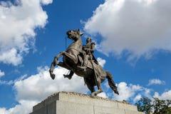 Saint Louis Cathedral et statue d'Andrew Jackson photographie stock