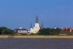 Saint Louis Cathedral in the French Quarter in New Orleans Stock Image