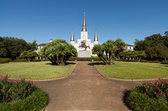Saint Louis Cathedral New Orleans Stock Photo