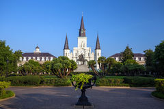 Saint Louis Cathedral in New Orleans, Louisiana. Royalty Free Stock Image