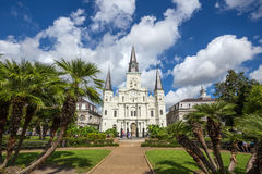 Saint Louis Cathedral in New Orleans, Louisiana. Stock Images