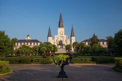 Saint Louis Cathedral in New Orleans, Louisiana. Stock Image
