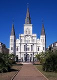Saint Louis Cathedral, New Orleans, USA. Stock Photography