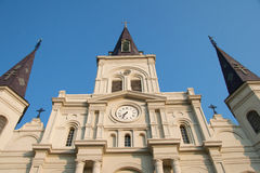 Saint Louis Cathedral up Close Royalty Free Stock Photo