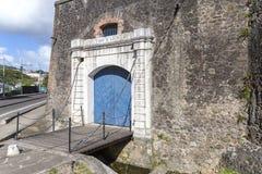 Saint Louis del fuerte en el Fort-de-France, Martinica fotografía de archivo libre de regalías
