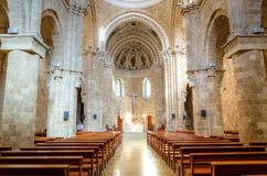 Saint Louis Des Capucins church Royalty Free Stock Photos