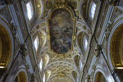Saint Louis des Francais church in Rome Stock Photography