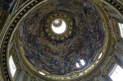 Saint Louis des Francais church in Rome Royalty Free Stock Photography