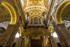Saint Louis des Francais church, Rome, Italy Stock Images